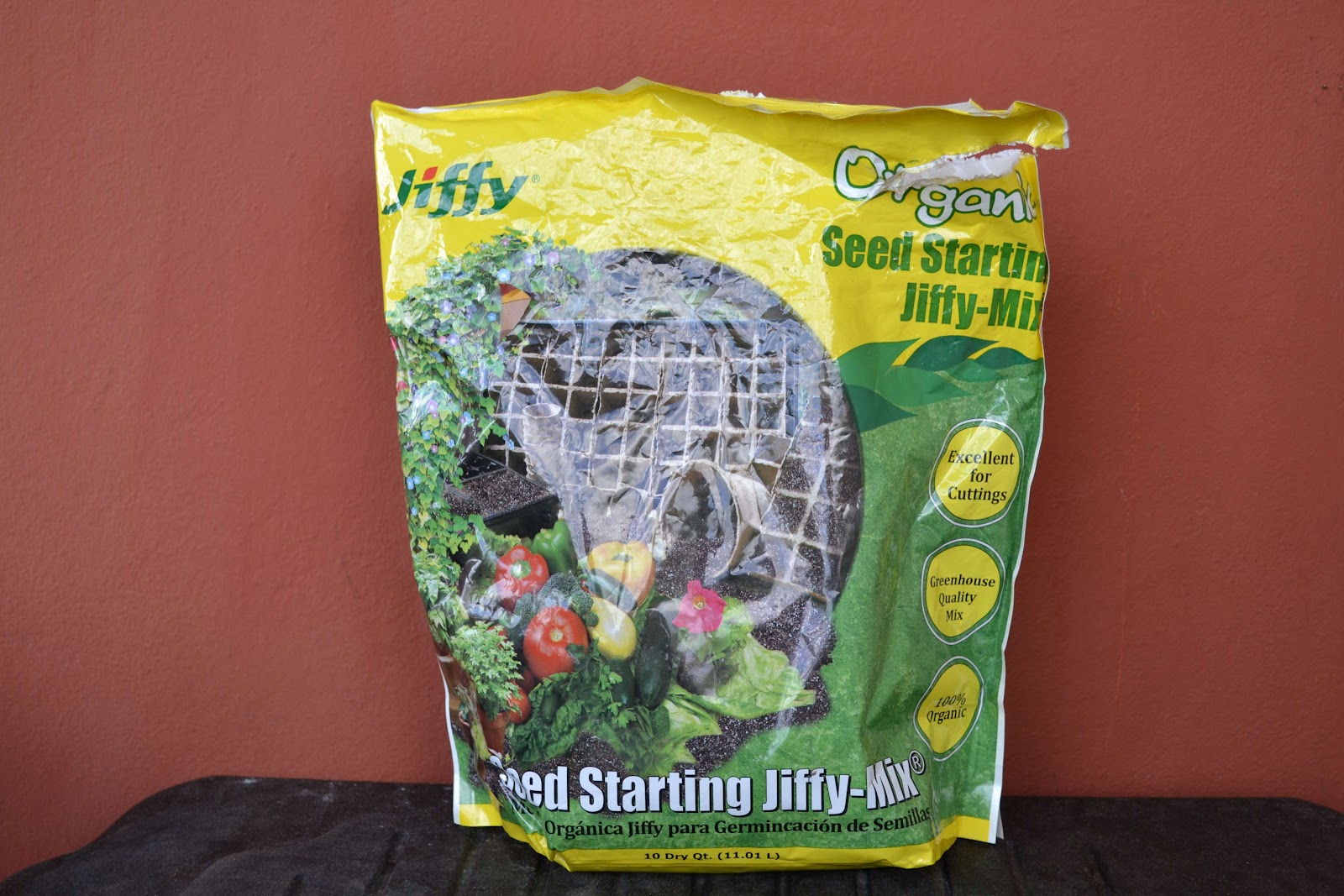 Product Review Jiffy Seed Starting Mix