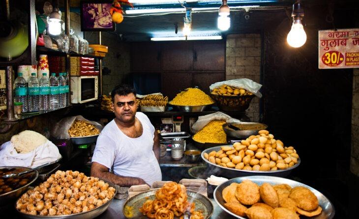 Cientos de vendedores ambulantes en la India son millonarios