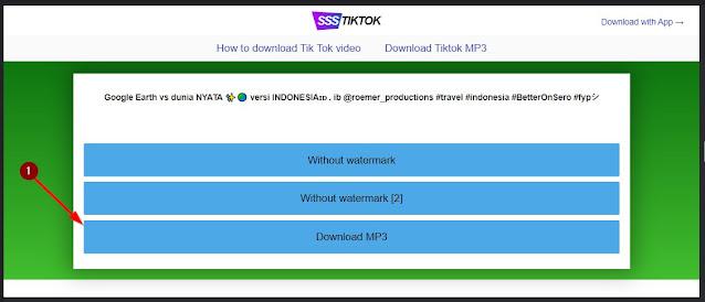 tombol download sound mp3 tiktok