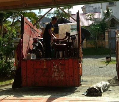Dok. Pindahan Rumah Malang Mataram Lombok (Truk cdd)