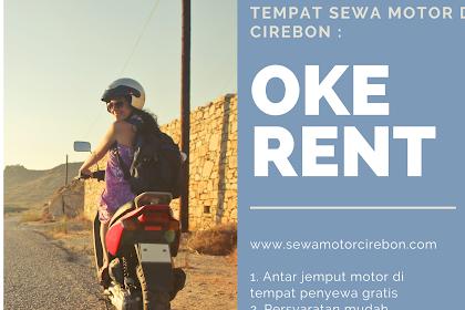 Tempat sewa dan rental motor murah di stasiun Prujakan kota Cirebon Jawa barat