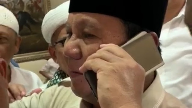 Ustaz Hilmi Firdausi Colek Prabowo: Masih Ingat Habib Rizieq Pak? Beliau Sedang Terzalimi!