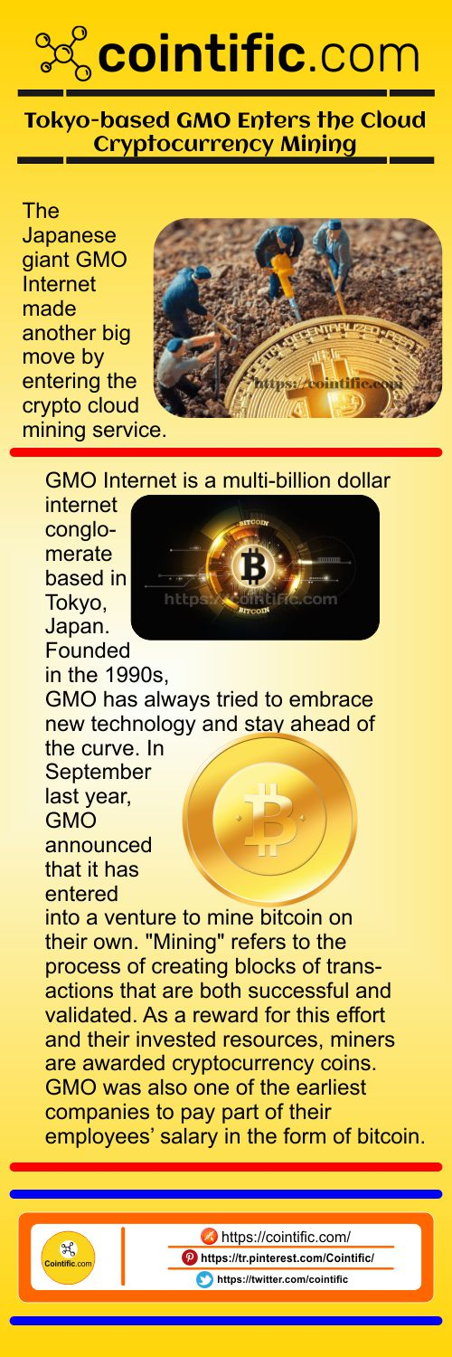 Tokyo-based GMO Enters the Cloud Cryptocurrency Mining | Cointific.com