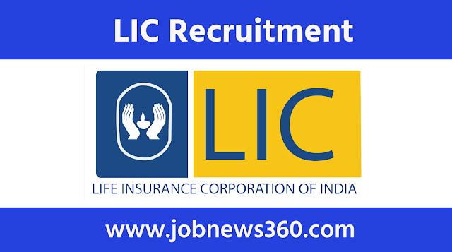 LIC Recruitment 2020 for Insurance Representative