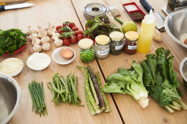 green vegetables keto
