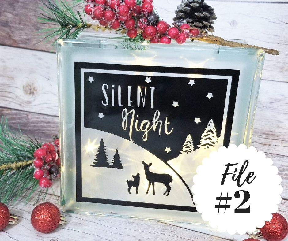 Easy Holiday Cricut Project Ideas 5 Free Cut Files Sew Simple Home
