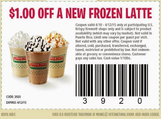 graphic about Krispy Kreme Printable Coupons titled Printable coupon for krispy kreme doughnuts - 6 02 coupon codes