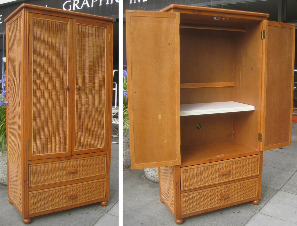 Uhuru Furniture Amp Collectibles Sold Wicker And Wood