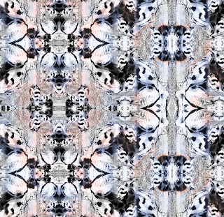 Abstract textile repeat 7061