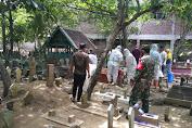 Pesan Babinsa, Saat Dampingi Pemakaman Warga di TPU Suburan Mranggen