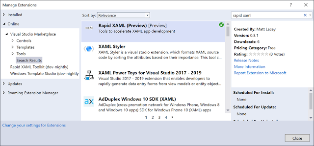 Rapid XAML Toolkit - Now in preview!