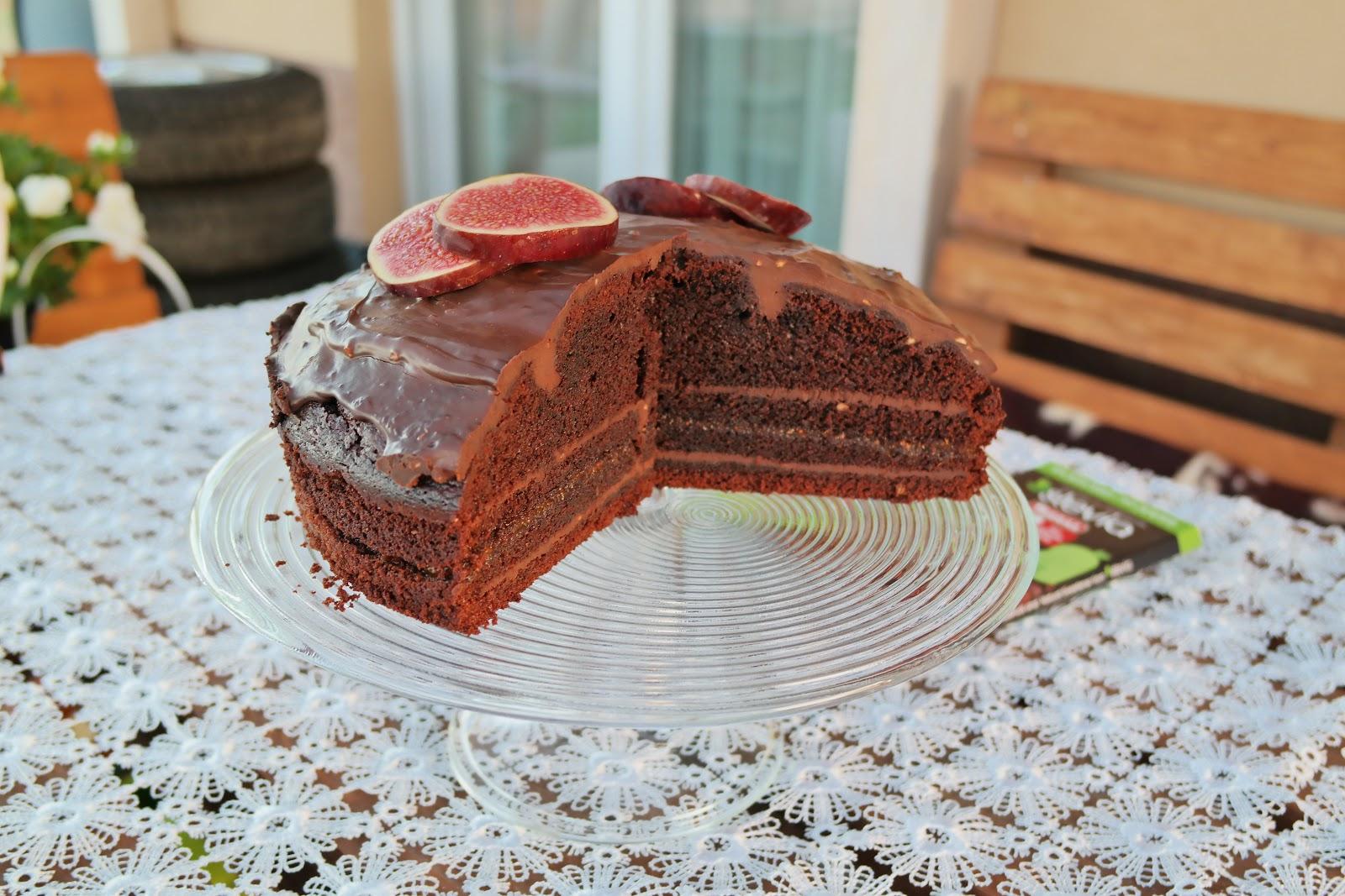 łatwy tort czekoladowy