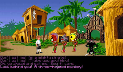 Pantallazo videojuego The Secret of Monkey Island