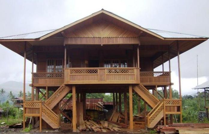 rumah adat yang ada di jambi indonesiaku kini