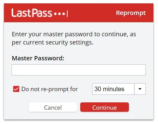 Export LastPass Passwords