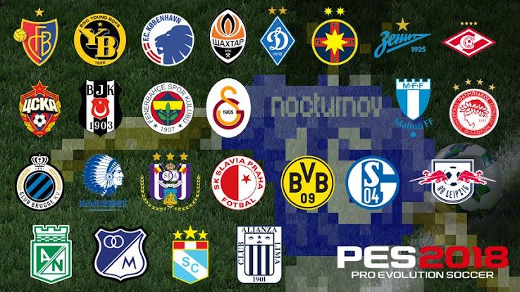 PES 2018 Club Licenses List Leaked - Footy Headlines