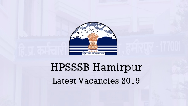 HPSSSB Hamirpur Latest Vacancy 2019: 85 Clerk Posts [Apply Now]