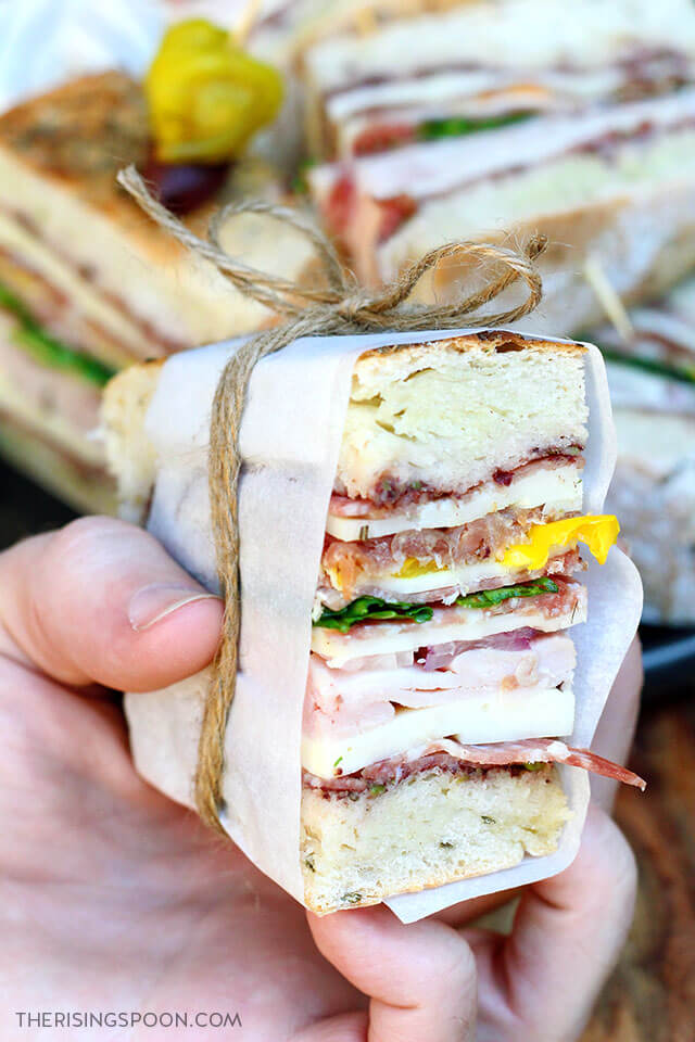 Top 10 Most Popular Recipes On The Rising Spoon in 2020: Pressed Italian Sandwiches