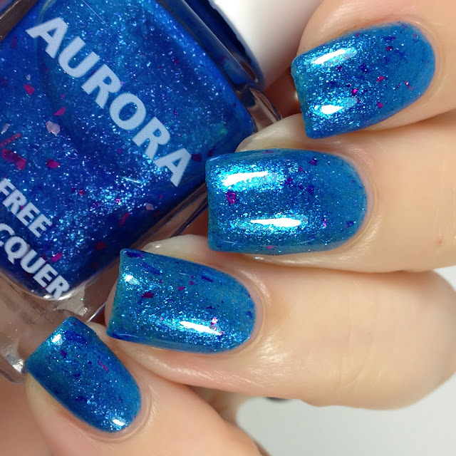 Aurora Nail Lacquer-Laundry Day is a Very Dangerous Day