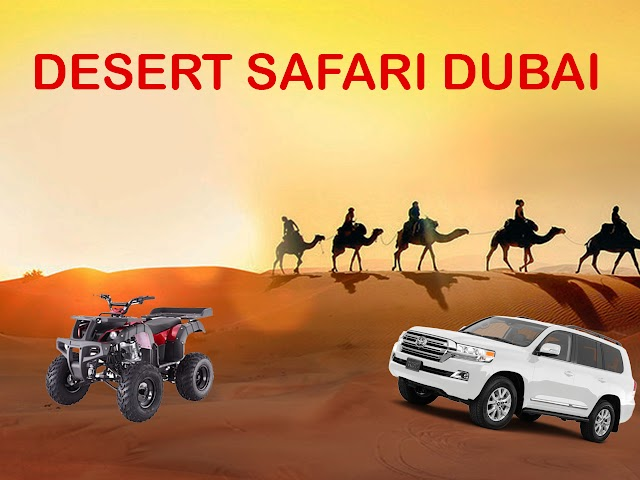 Desert Safari Dubai: Extreme Adventure Time for Tourists in Dubai