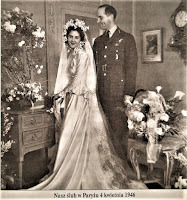 Ślub autora w Paryżu 1946 r.