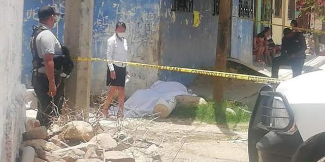 ASESINAN A UN SUJETO EN LA COLONIA LIBERTADORES EN LA PERIFERIA DE ACAPULCO