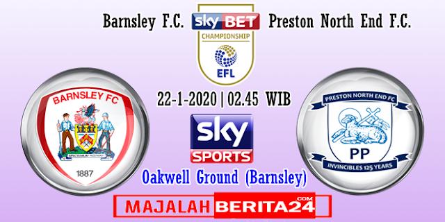 Prediksi Barnsley vs Preston North End — 22 Januari 2020
