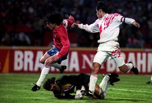 Chile y Perú en Copa América 1993, 24 de junio