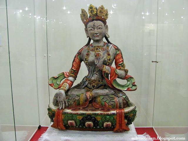 Музей истории Бурятии - богиня Ситатара