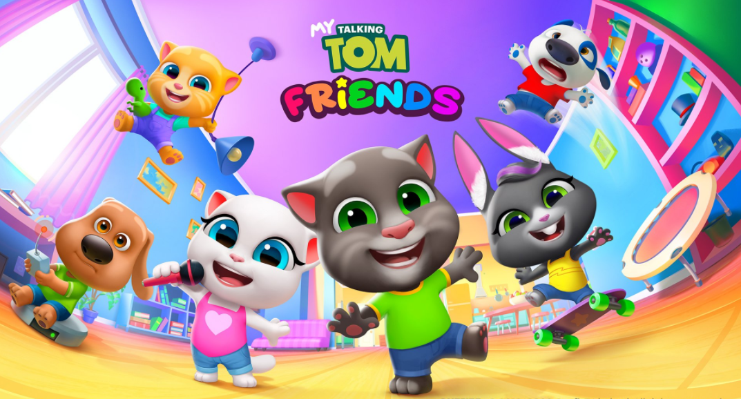 My Talking Tom Friends features