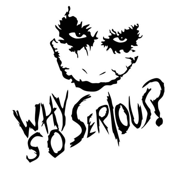 Joker Gambar Kartun Keren Hitam Putih 3d