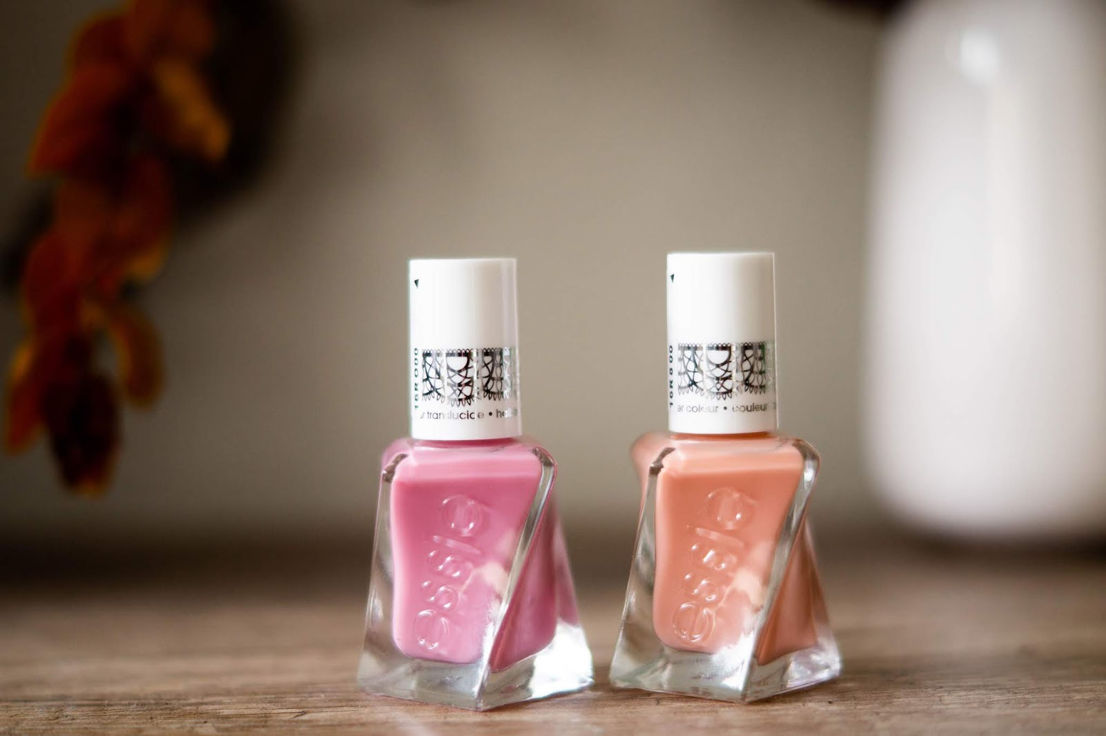 vernis Essie sheer silhouettes