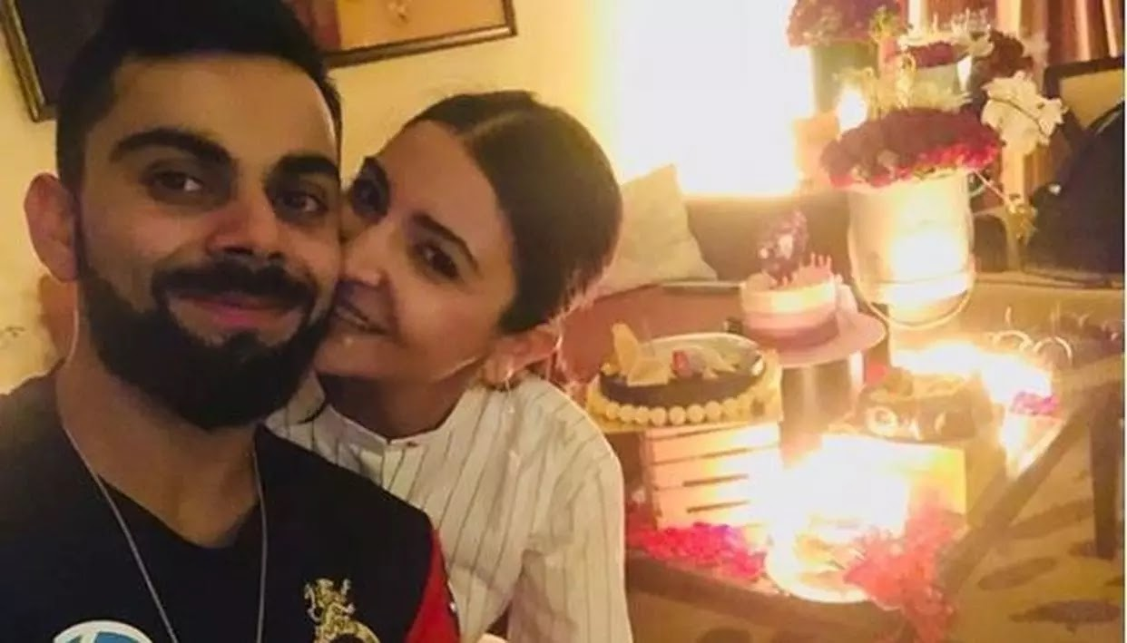Virat Kohli wish wife Anushka Sharma on birthday on Instagram