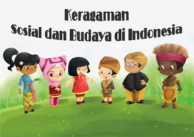Keragaman Sosial dan Budaya di Indonesia