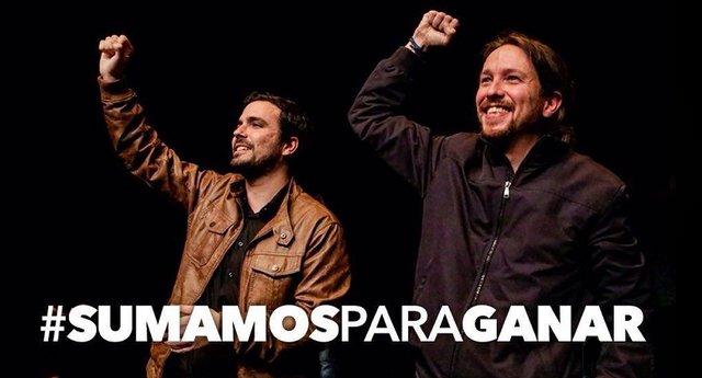 Alberto Garzón desmiente que IU se vaya a liquidar o disolver dentro de Podemos.
