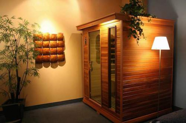 Decorando revista de decoraci n del hogar y oficina - Como hacer una sauna ...