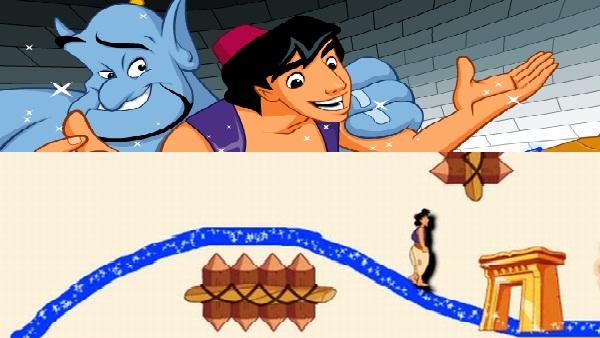 Play Aladdin Amazing Map game