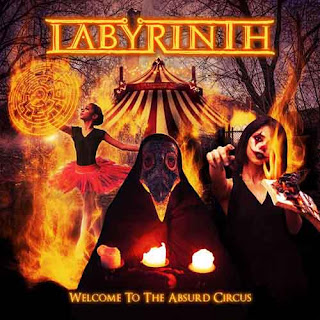 "Ο δίσκος των Labÿrinth ""Welcome to the Absurd Circus"""