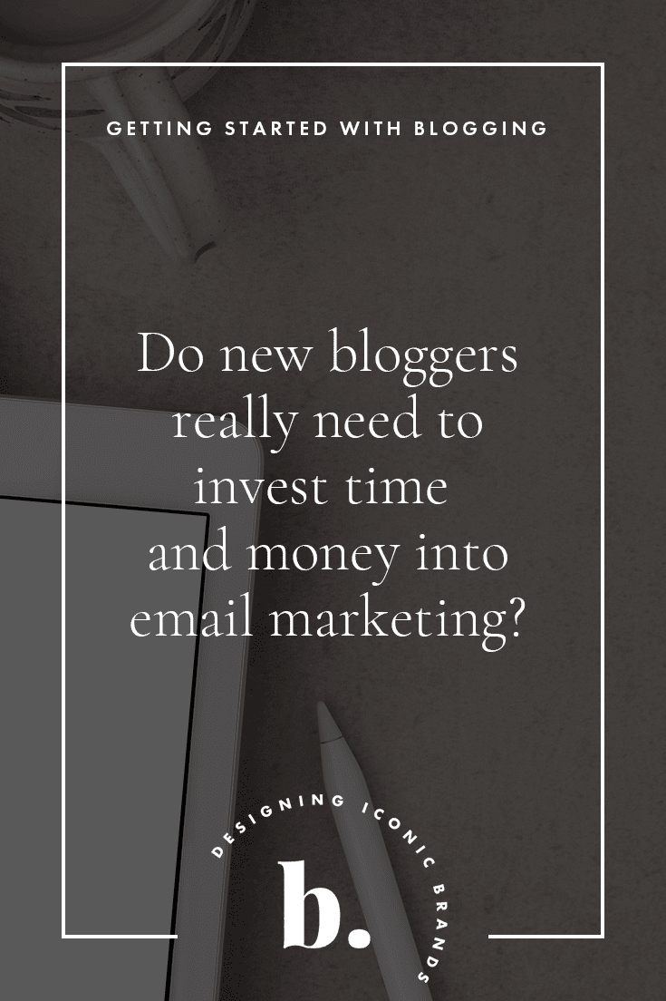 is email marketing good for new bloggers?