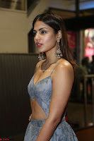 Rhea Chakraborty in a Sleeveless Deep neck Choli Dress Stunning Beauty at 64th Jio Filmfare Awards South ~  Exclusive 131.JPG