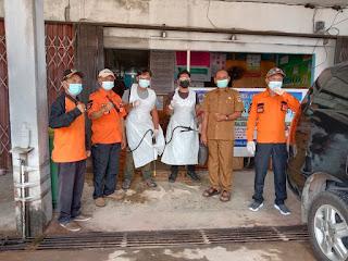 Disnaker Meminta BPBD lakukan Penyemprotan Disinfektan, Demi Kenyamanan Pegawai Bekerja