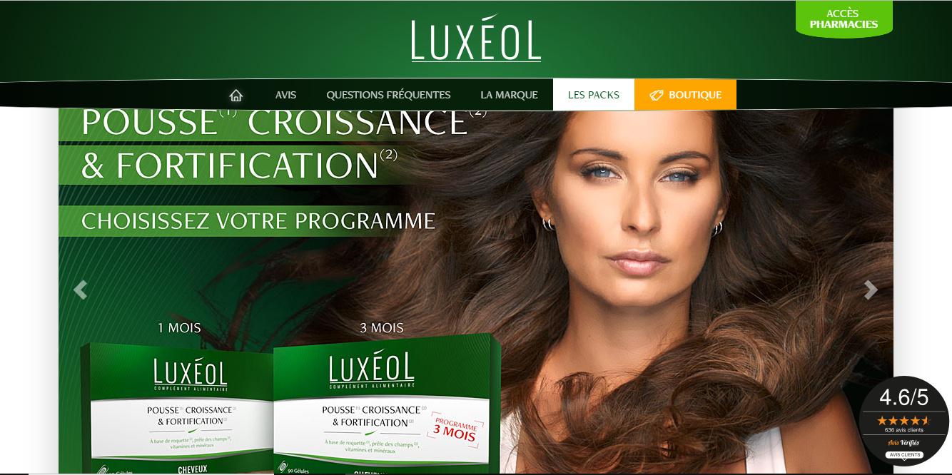 💆🏽♀️ LUXÉOL CHEVEUX  Pousse Croissance et Fortification