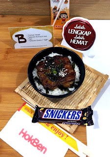 Bento Ramadan B jadi pilihan menu buka puasa di HokBen