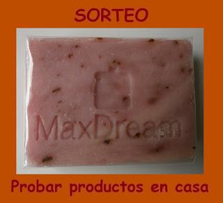 Sorteo Jabón Rosa de Mosqueta MaxDream