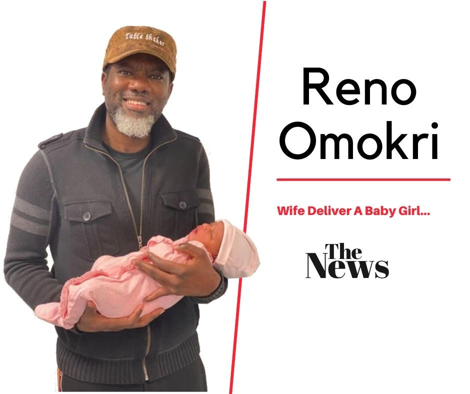 Reno Omokri and his newly born baby girl