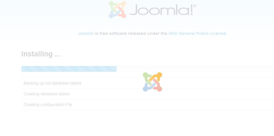 Cara Cara Membaiki Loading Installing Joomla 3