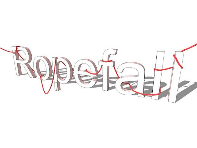 Ropefall plugin for sketchup - Plugin pembuat tali dan kabel intsant.
