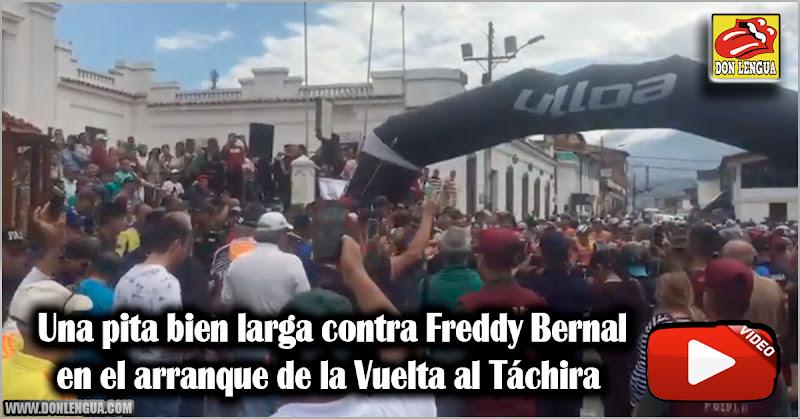 Una pita bien larga contra Freddy Bernal en la Vuelta al Táchira