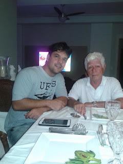 Ataide Ferreira (presidente da AMPUP) ao lado do pesquisador Joston Miguel Silva (in memoriam)