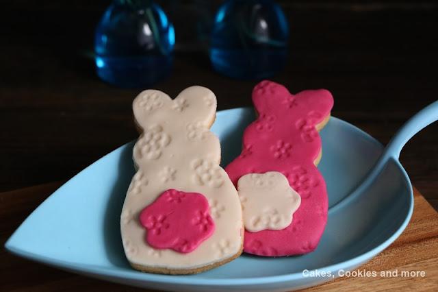 Anleitung und Rezept für Cookie mit Fondant - Osternkekse